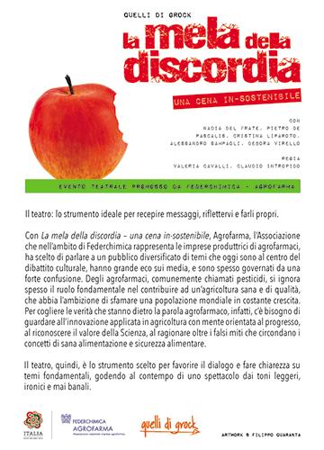 """Agrofarma, """"La mela della discordia"""""""